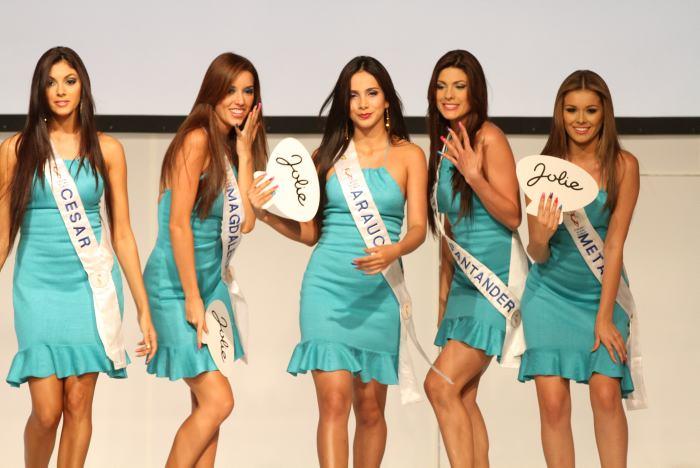 Señoritas Cesar, Magdalena, Arauca, Santander y Meta