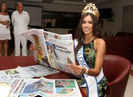 Paulina Vega Dieppa, Señorita Colombia 2013-2014.