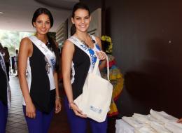 Paola Ruiz, de Arauca, y Carolina Crovo, de Antioquia.