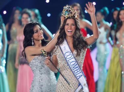 Atlántico, Paulina Vega, es nueva Señorita Colombia 2013-2014.