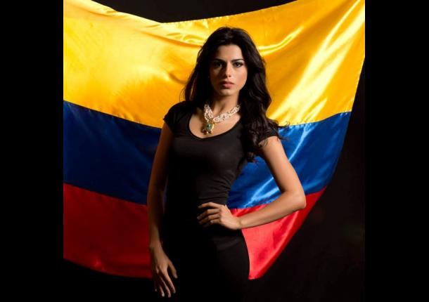 Lucía Aldana Roldán en Miss Universo