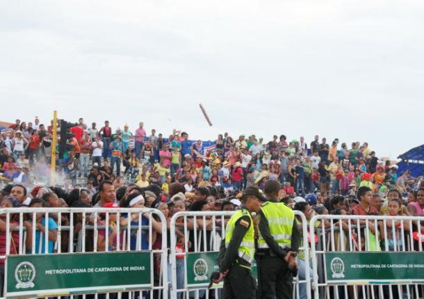 Organización desfile de independencia