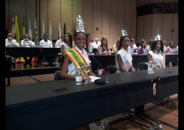 La nueva Reina de la Independencia, Andrea Pineda.