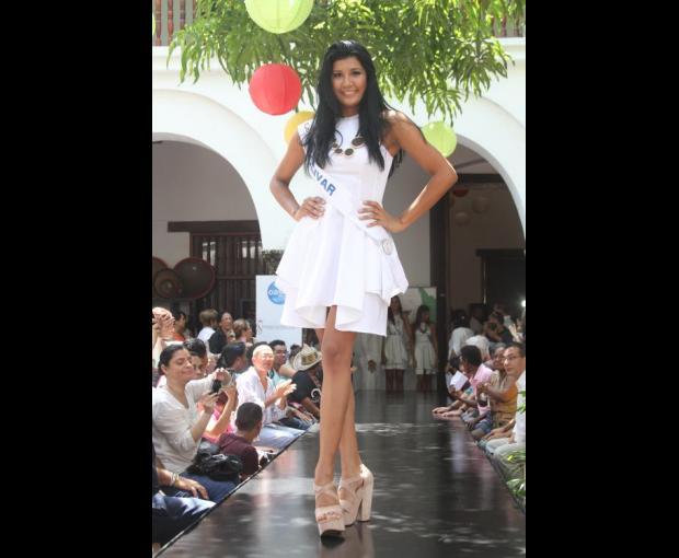 Señorita Bolívar - Geraldine Álvarez Hernández