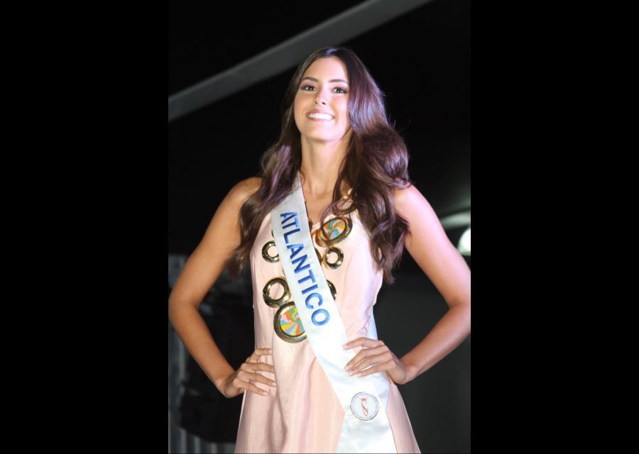Señorita Atlántico, Paulina Vega.