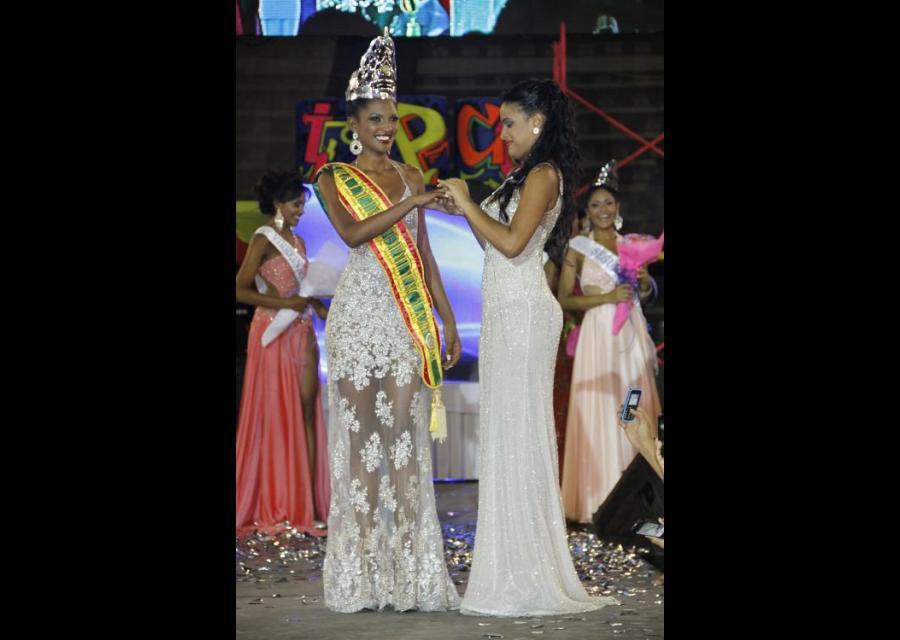 La nueva Reina de la Independencia: El Nazareno, Andrea Pineda.