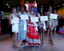 Las candidatas mostraron su mejor repertorio de baile en el Coliseo de Combate