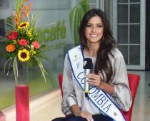 Paulina Vega Dieppa, Señorita Colombia.