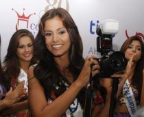Daniela Castañeda, Señorita Meta y escogida como Señorita Fotogénica.