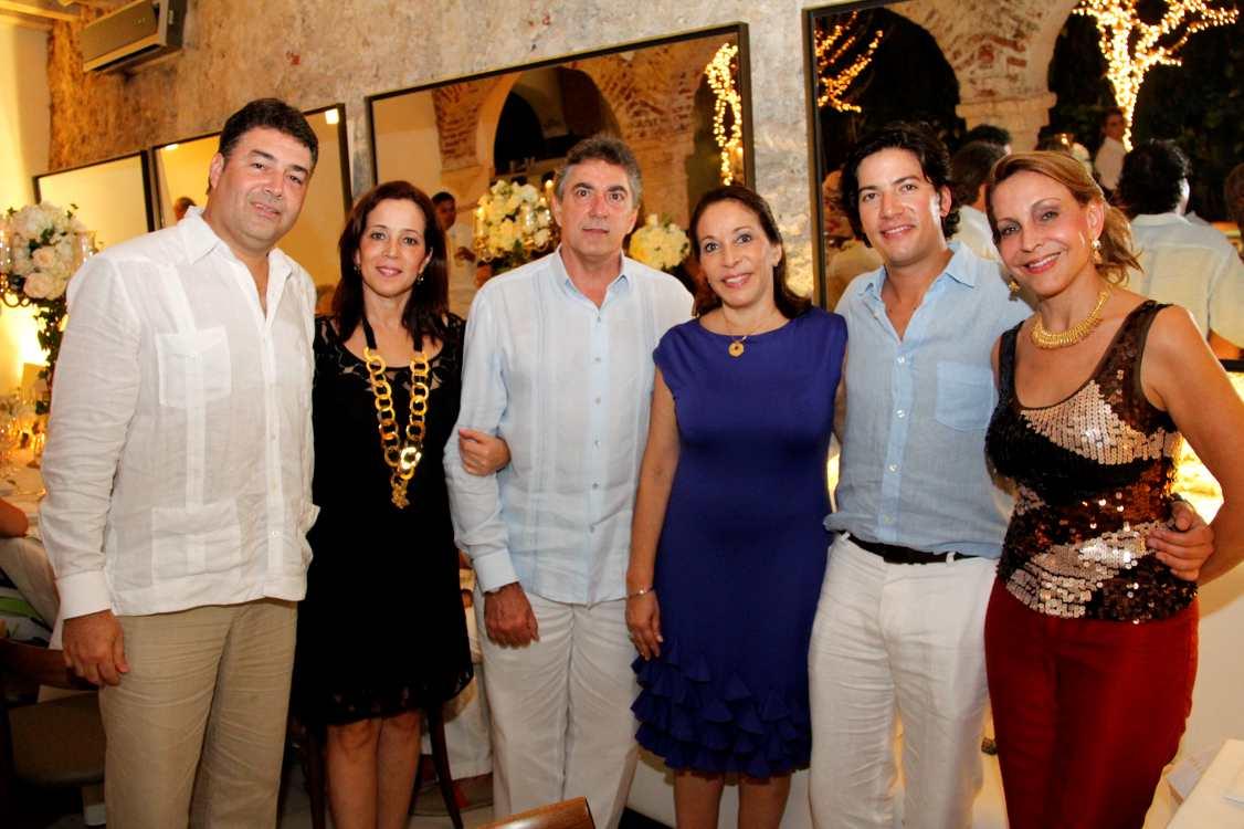... , Jaime Dorronsoro, Lucía Bellini, Ricardo Cabal y Nidiam Bellini