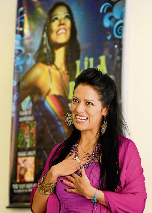 La artista Lila Downs.