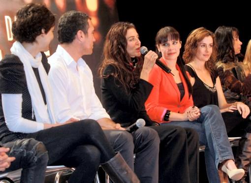 ... , algunos de los protagonistas de la exitosa serie de televisión