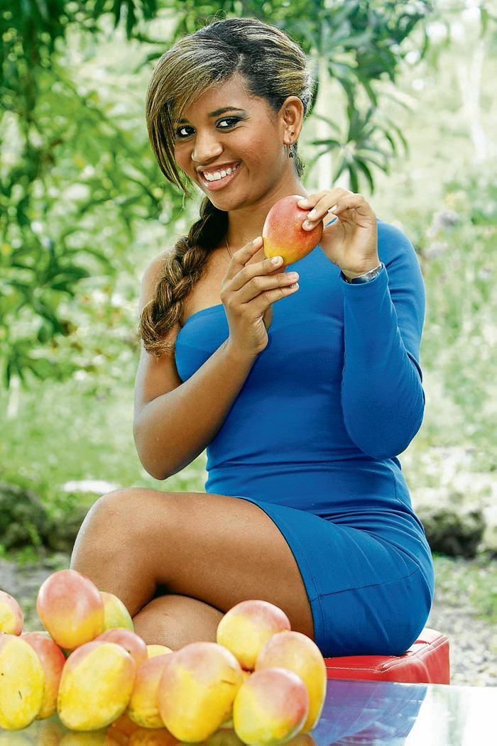 Kendy Torres Julio, reina del Festival del Mango. FOTO JULIO CASTAÑO EL UNIVERSAL