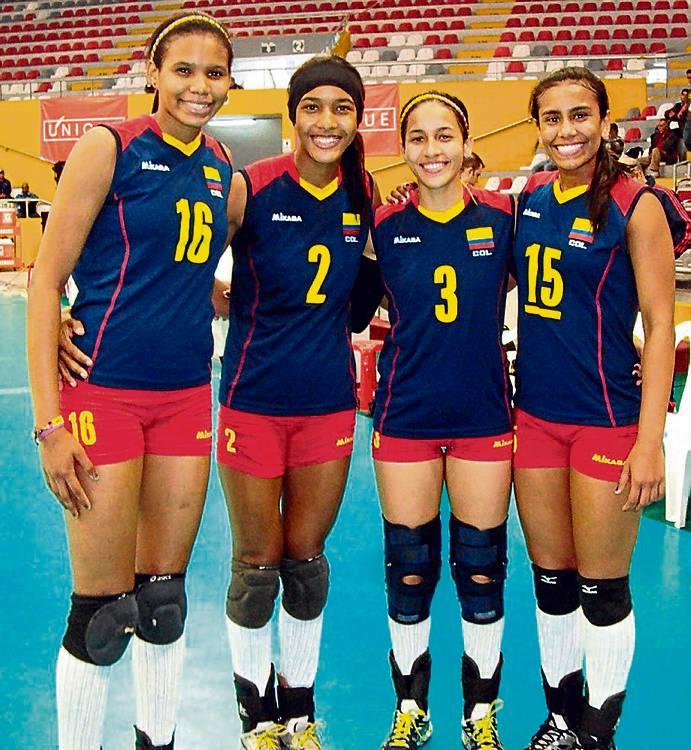 nombres de jugadores de voleibol colombianos