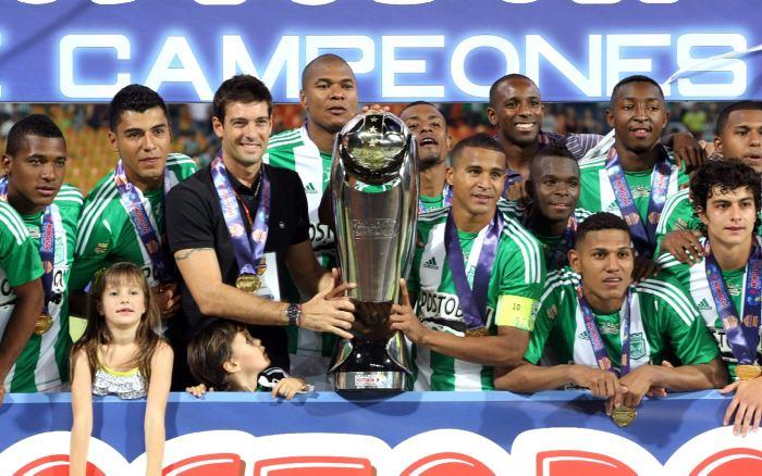partir del primero de enero de 2013 el club Atlético Nacional