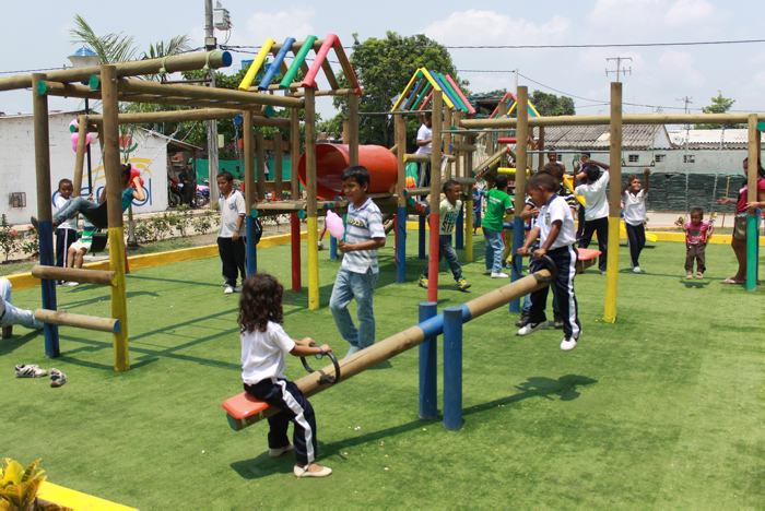 Niños de Cantagallo, los más felices con el parque | Alcaldía de ...
