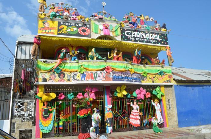 Escogidas Las Mejores Fachadas Del Carnaval Del Bicentenario