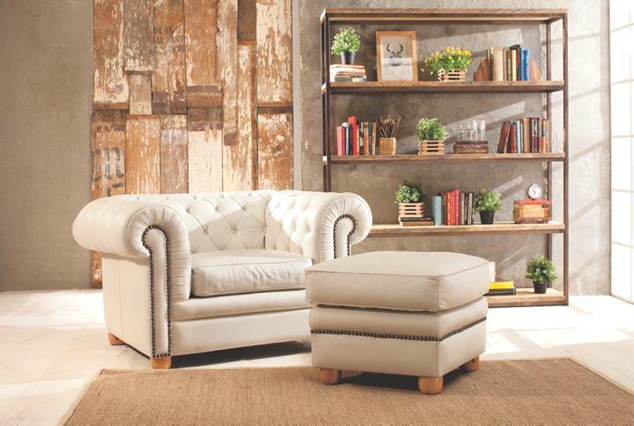 Cuero y madera: Al rescate de lo natural | Diseño interiores | EL ...