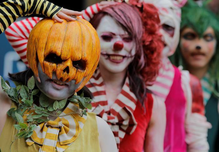 Niños disfrazados en Halloween - Imagui