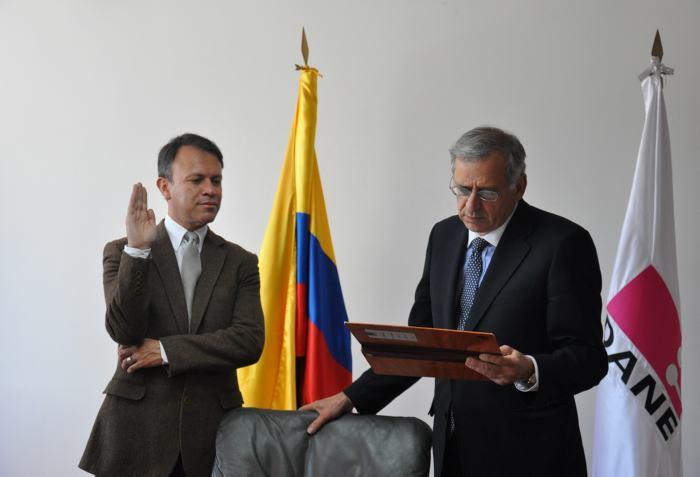 Juan Carlos Guataquí se posesionó como subdirector del Dane - El Universal - Cartagena