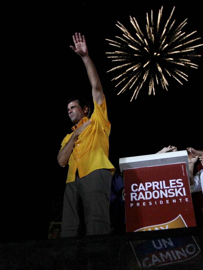 Capriles: Portuguesa es la imagen del modelo fracasado que gobierna el país