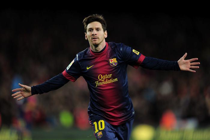 10 máximos goleadores del 2012