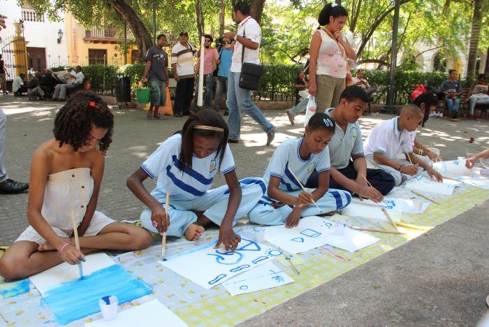 Niños y niñas con discapacidad celebran su día pintando   Diversidad ...