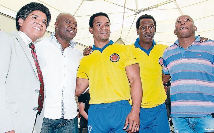 , Antonio Jiménez, Omar Murillo y Faustino Asprilla. // Colprensa