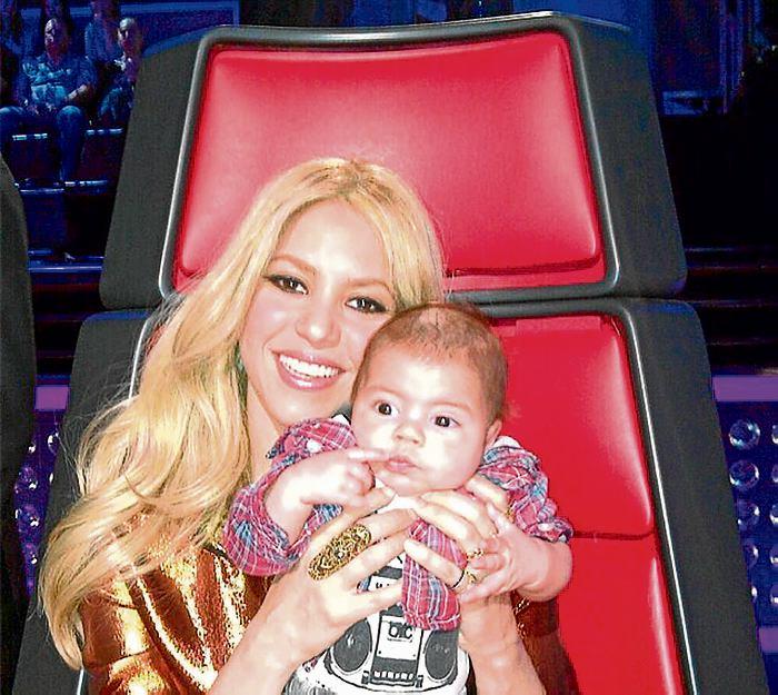 Shakira Publicó Dos Fotos De Milan En Su Cuenta Twitter