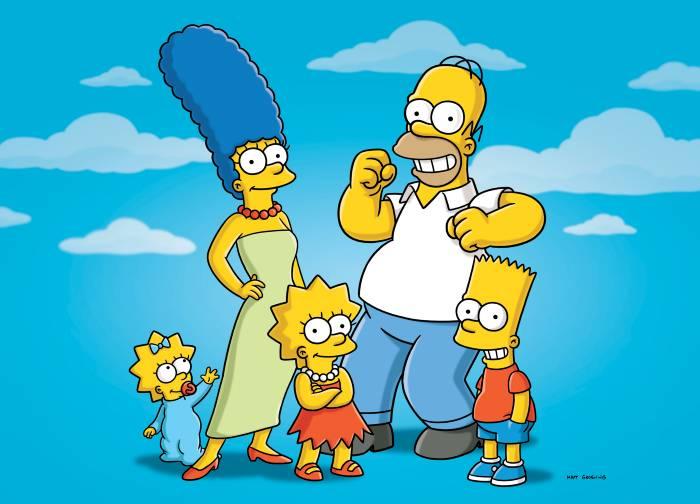 """... de la serie Los Simpsons"""", declaró el director general de la cadena"""