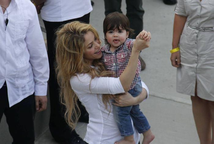 Fotos Shakira Pique Milan Shakira y Milan Piqué en