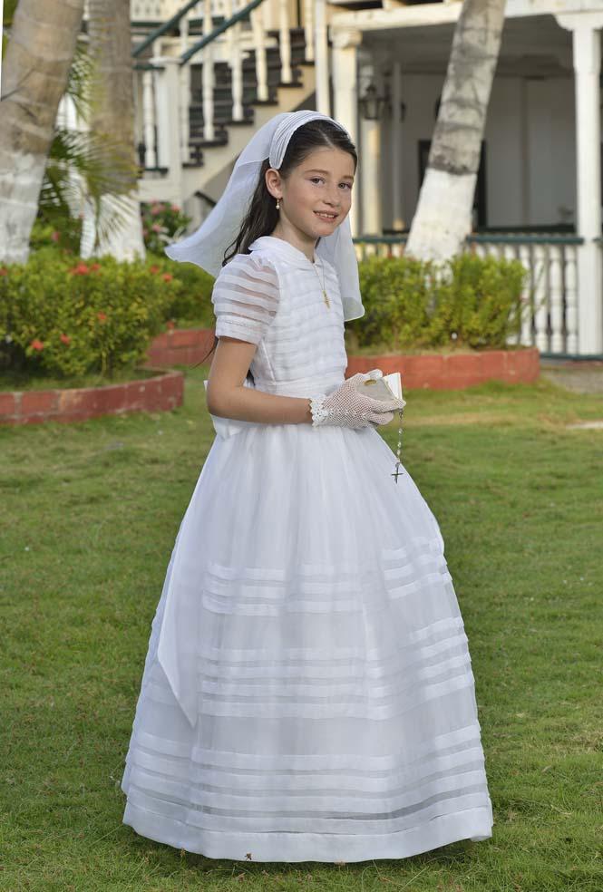 Vestidos de primera comunion modernos en colombia
