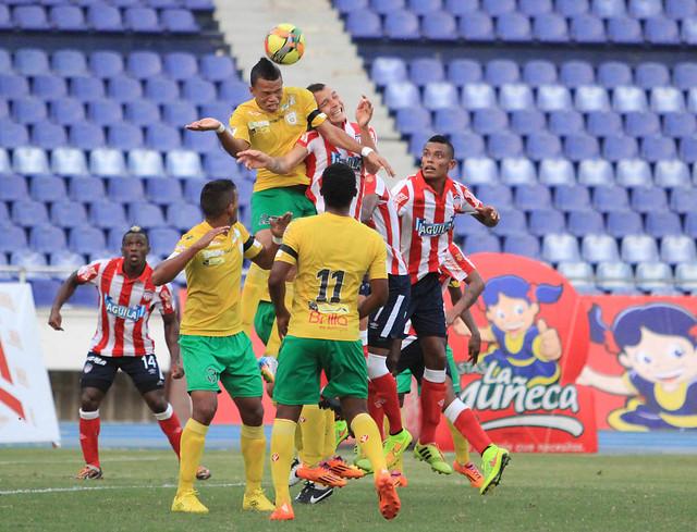 Real Cartagena y Junior empataron por la Copa Postobón | EL ...