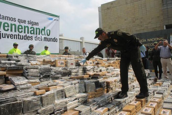 Desarticulan en Colombia red de narcotraficantes que enviaba drogas a Holanda