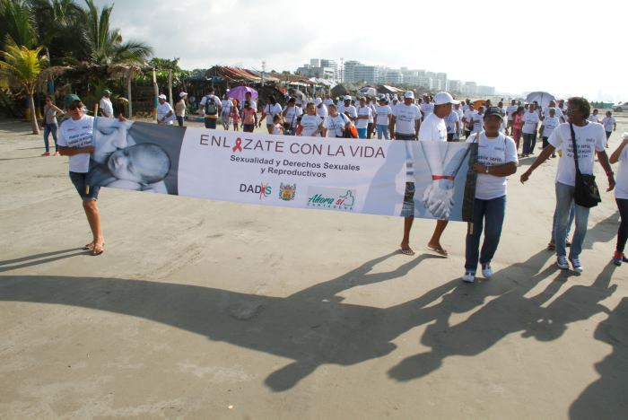 Caminata de promoción y prevención de enfermedades de transmisión ...