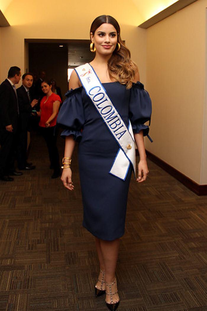 Miss Universo 2016 Miss Universo en Bogotá