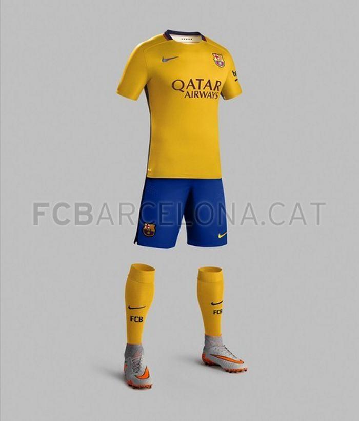 Conozca la nueva equipación del Barcelona para la temporada 2015-2016  49279d358e0