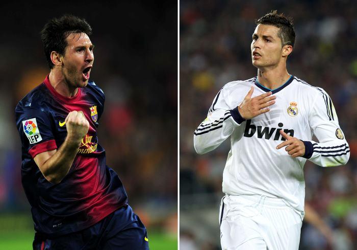 Estudio revela que Messi es ocho veces mejor que cr7