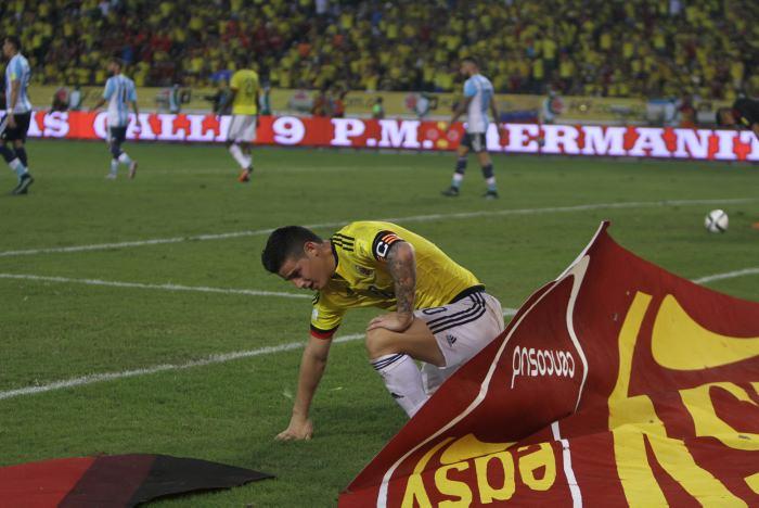 Colombia, sin fútbol, complicó su camino a Rusia-2018 | Fútbol | EL ...
