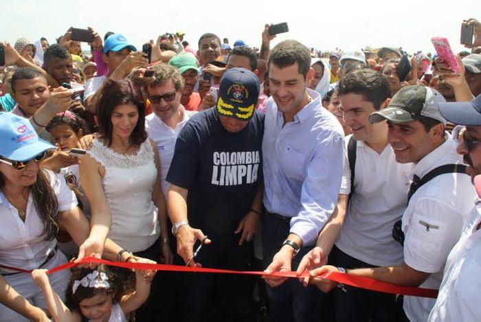 Vicepresidente inauguró el puente Talaigua Nuevo - Santa Ana - El Universal - Colombia
