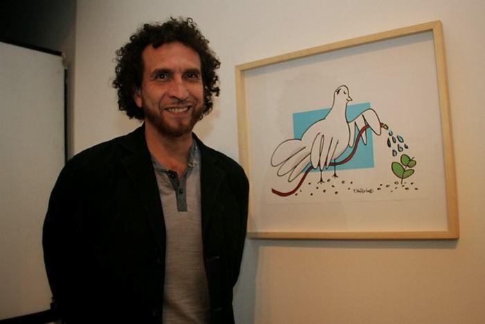 Caricaturista Chócolo, ganador de la estampilla por la paz | EL ...