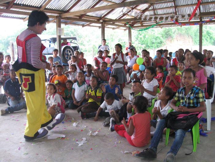 En la Alta Montaña celebraron el Día del Niño - El Universal - Colombia