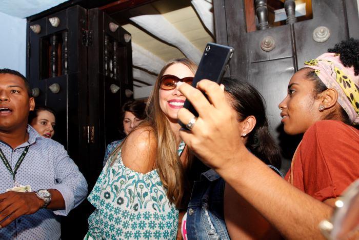 a527309c Sofía Vergara se antojó de arepa de huevo   EL UNIVERSAL - Cartagena
