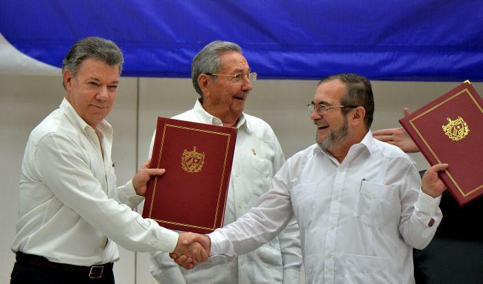 Resultado de imagen para ACUERDOS DE PAZ CON LAS FARC