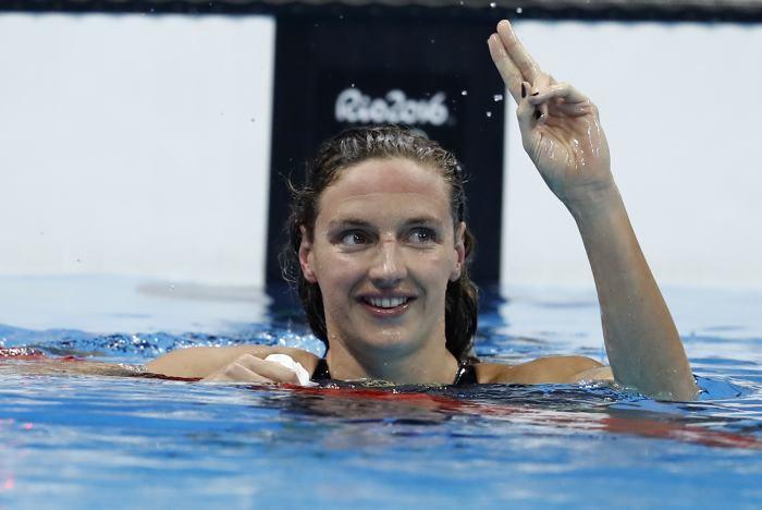La húngara Katinka Hosszu destroza un récord mundial en natación