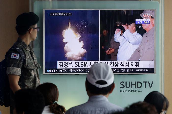 Norcorea lanza misil desde submarino 24/Ago/2016 Internacional — Seúl