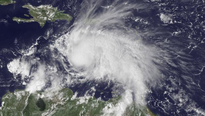 Huracán Matthew se dirige hacia Haití, Jamaica y Cuba