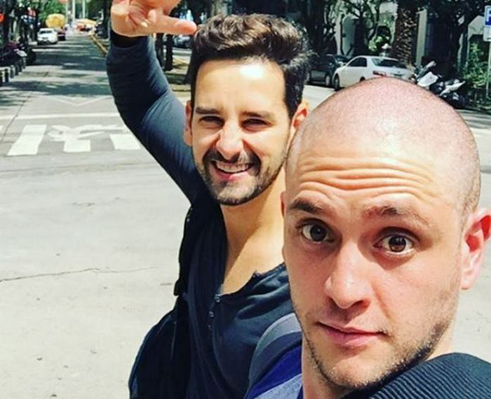 RBD: mira el radical cambio de look de Christopher Uckermann