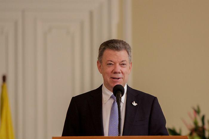Presidente Santos entrega acuerdo de paz en la ONU