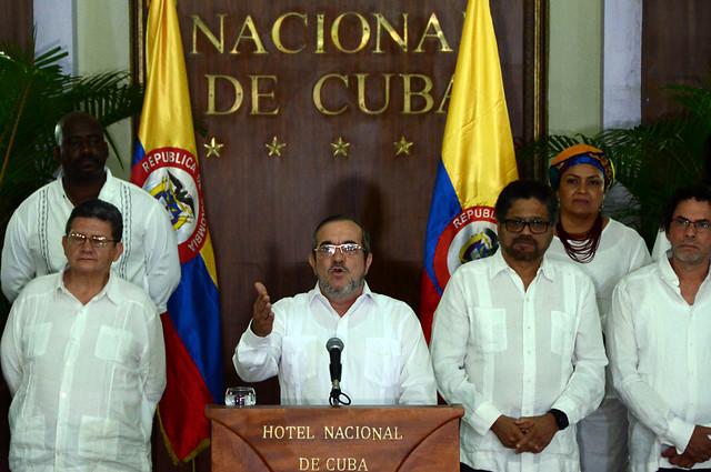 Timochenko dice que las FARC seguirán apostando por la paz
